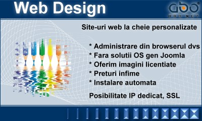 Web Design BUSINESS Domeniu inregistrare domeniu domeniu hosting romania .ro .com